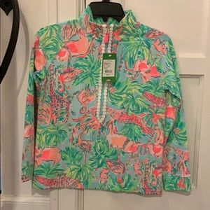 Lily Pulitzer New with tags half zip